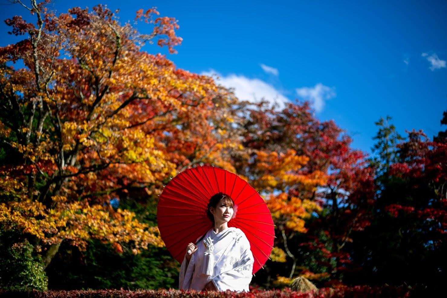 四季を感じる和婚☆2021年10月・11月秋のご結婚式受付中です!
